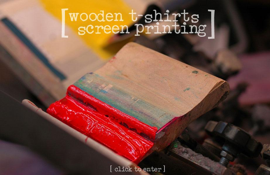 Wooden T-Shirts Custom Screen Printing - Buffalo, NY